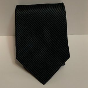 Brooks Brothers Mens Pure Silk Green Neck Tie